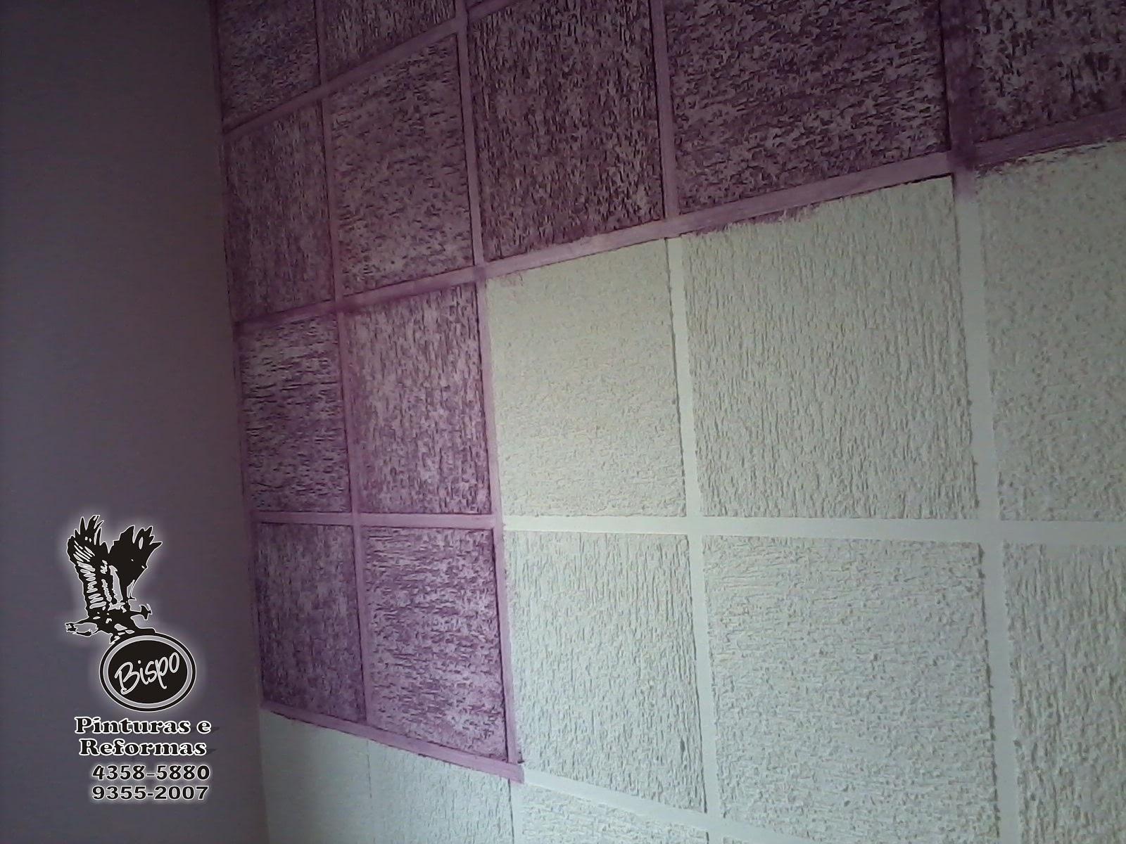 BISPO Pinturas e Reformas: Transformando Grafiato #5A424E 1600 1200