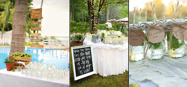 Barras de mojitos para bodas