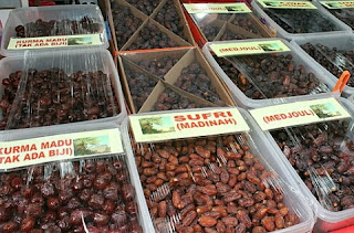 Harga Kurma Medjool dan Tunisia Disejumlah Pasar