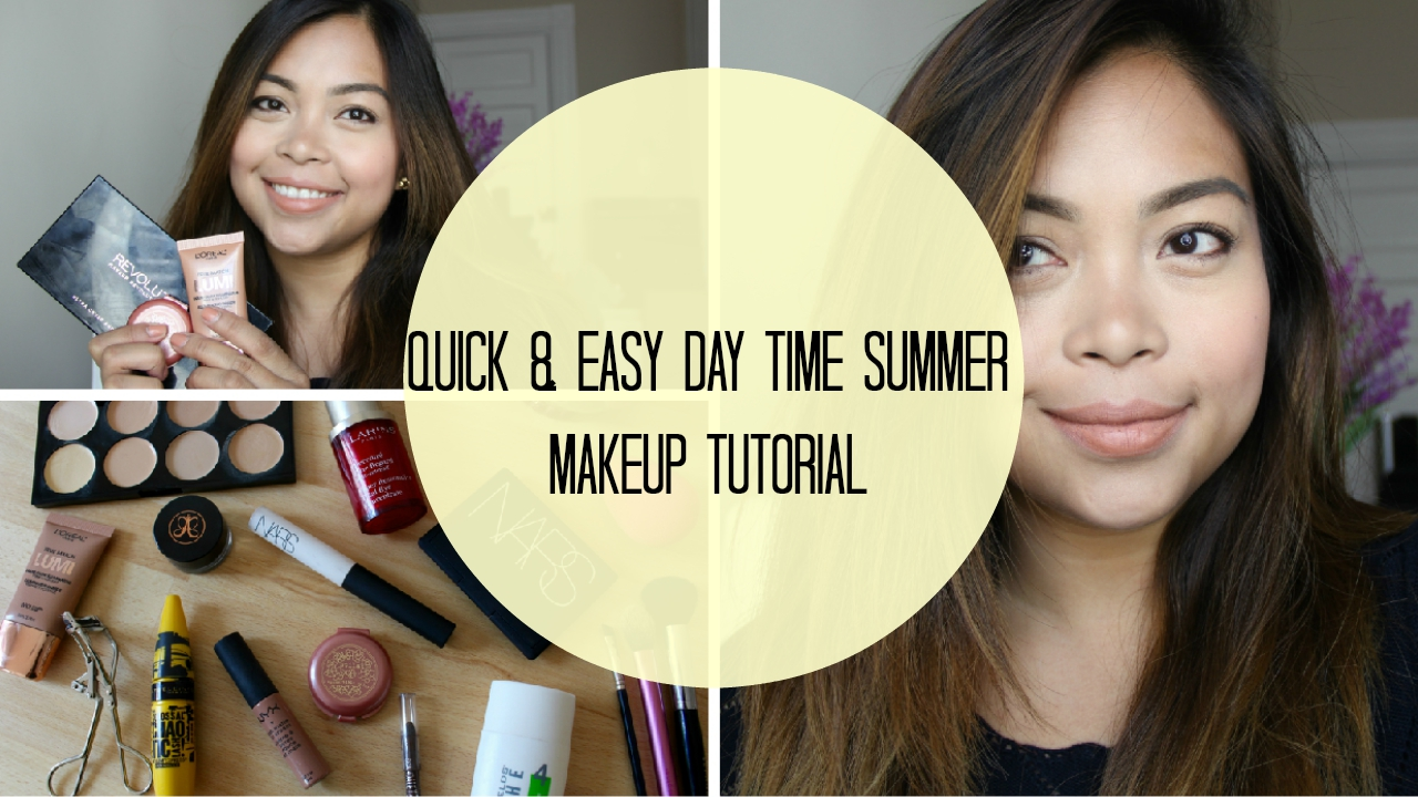 Easy Summer Wedding Makeup : Mary Jucel : Quick and Easy Day Time Summer Makeup Youtube