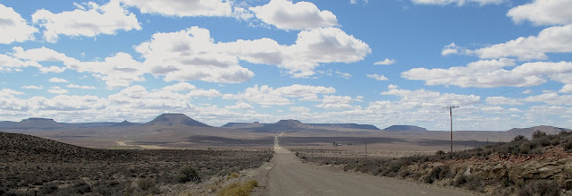 Sutherland to Calvinia - just past middelpos in the Northern Cape - the Great Karoo.  (Photo Keri Muller)