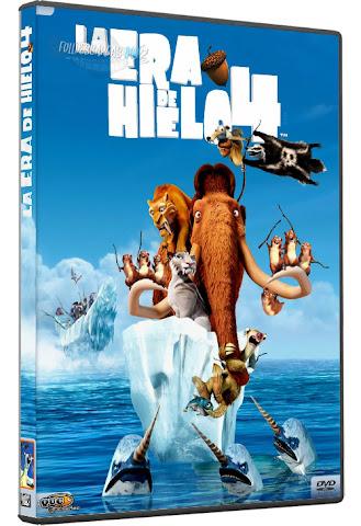 Descargar La Era de Hielo 4 DVDRip Español Latino 2012