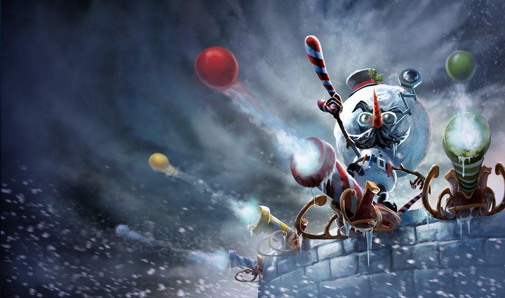 P.O League Of Legends Champs And Skins - Página 2 Snowmerdinger