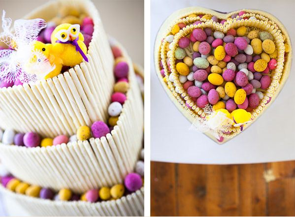 Gorgeous Easter Wedding Cake