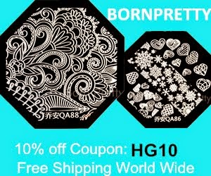 10% off at Born Pretty Store!!