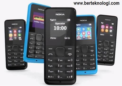 Spesifikasi Nokia 105, HP Murah Harga 200 Ribuan