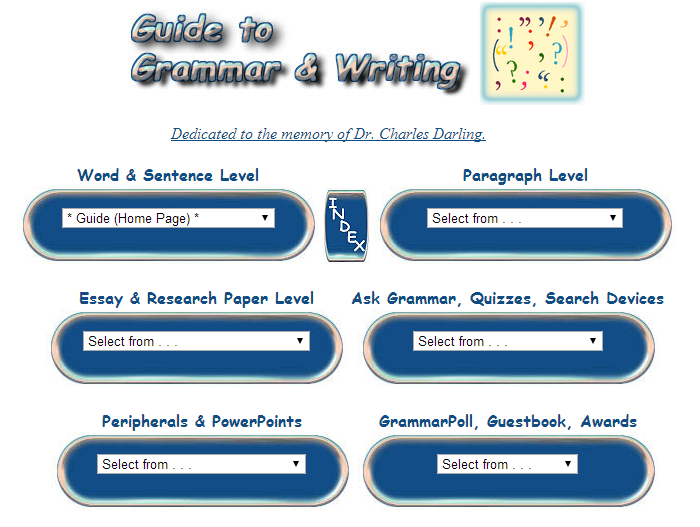 Grammar and Writing Guides