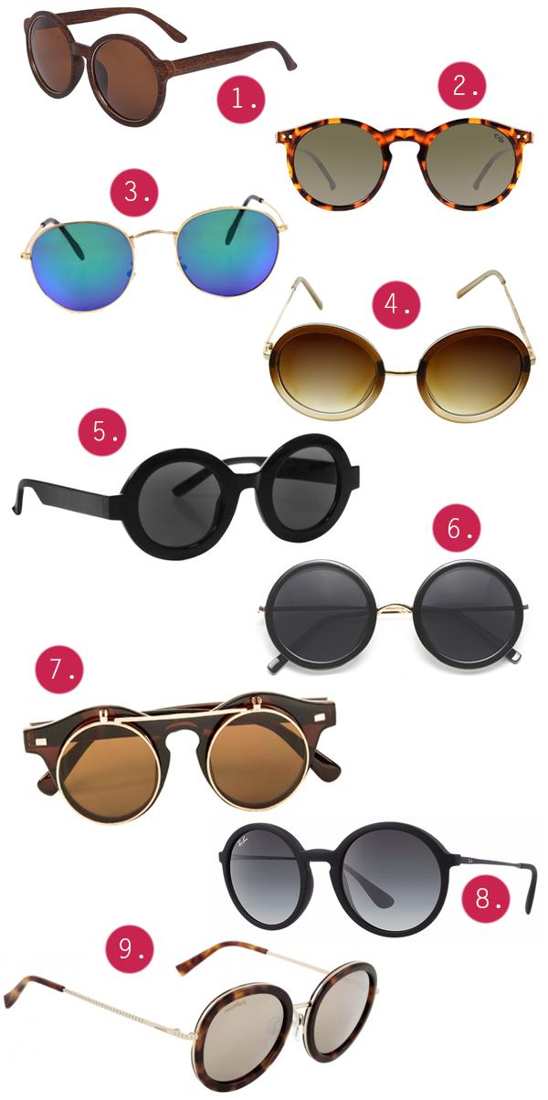 Óculos Redondo Tendência Moda Sunglasses Fashion Famosas Onde Comprar