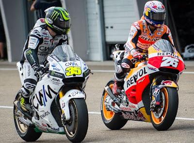 Crutchlow Sebut Aturan Baru MotoGP Bisa Buat Pedrosa Juara Dunia 2016