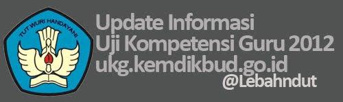 Uji Kompetensi Guru UKG 2012 ukg.kemdikbud.go.id