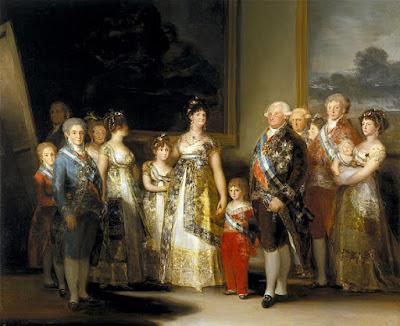 «La familia de Carlos IV» de Francisco de Goya - Museo del Prado. Disponible bajo la licencia Dominio público vía Wikimedia Commons - http://commons.wikimedia.org/wiki/File:La_familia_de_Carlos_IV.jpg#/media/File:La_familia_de_Carlos_IV.jpg