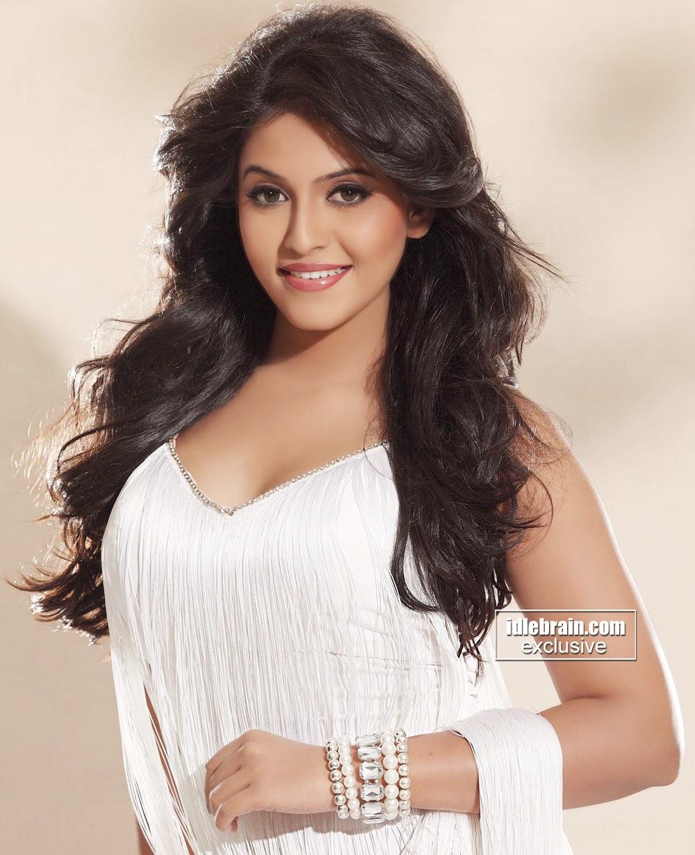 Anjali hot white