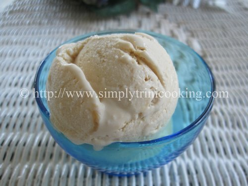 coffee liqueur ice cream