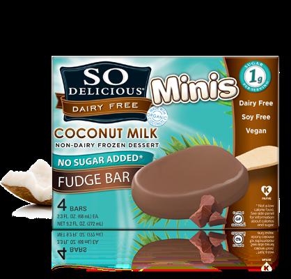 ... Allergy Friendly Education: So Delicious Dairy-Free Coconut Fudge Bars