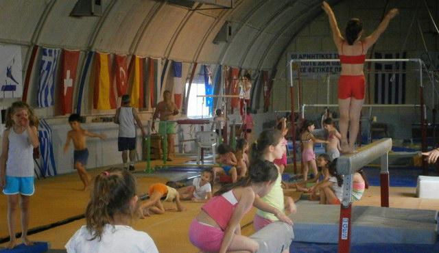 Καλοκαιρινό καμπ του Ομίλου Ενόργανης Γυμναστικής Αλεξανδρούπολης