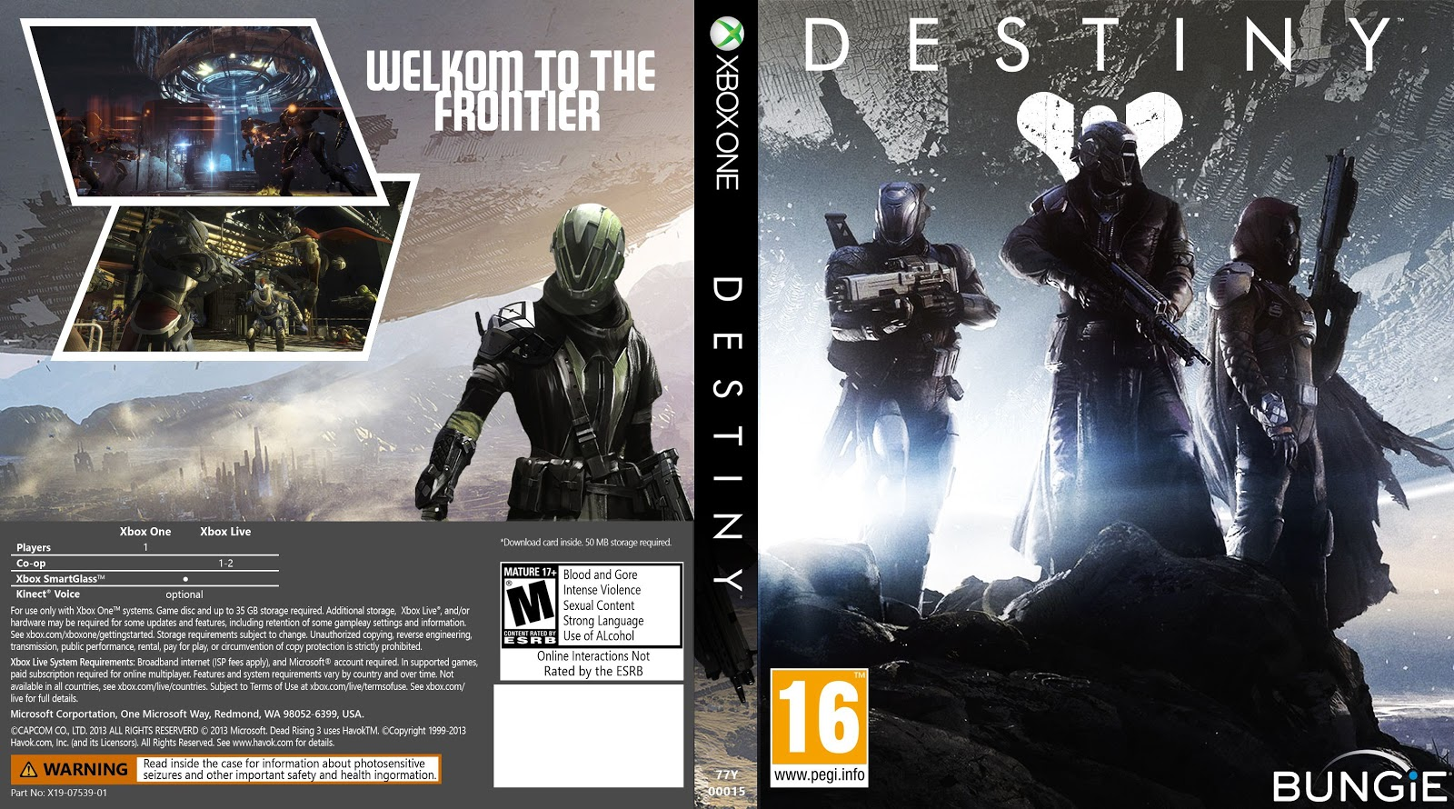 Capa Destiny Xbox One