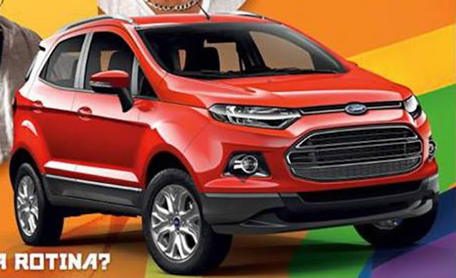 new ford ecosport titanium 2013 first picture of official version garage car. Black Bedroom Furniture Sets. Home Design Ideas