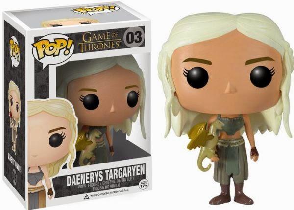 Funko Pop! Daenerys Targaryen w/ Golden Dragon [Barnes & Noble Exclusive]