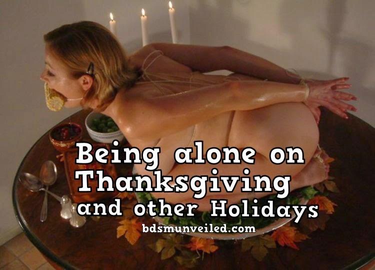 Alone on Holidays