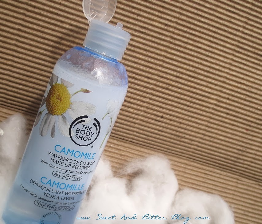 The Body Shop Camomile Waterproof Eye Lip Makeup Remover All Skin Types Review
