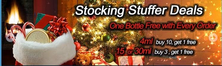Virgin Vapor, Christmas Sale, Stocking Stuffer