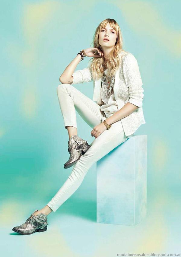 Rapsodia primavera verano 2015 pantalones de jeans. Moda 2015.