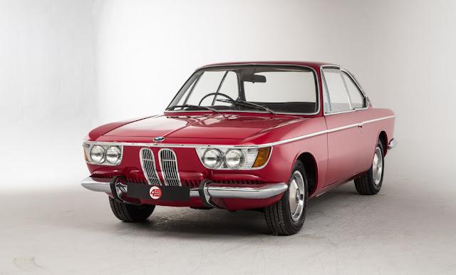 FAB WHEELS DIGEST (F.W.D.): BMW 2000C & 2000CS (1965-69)