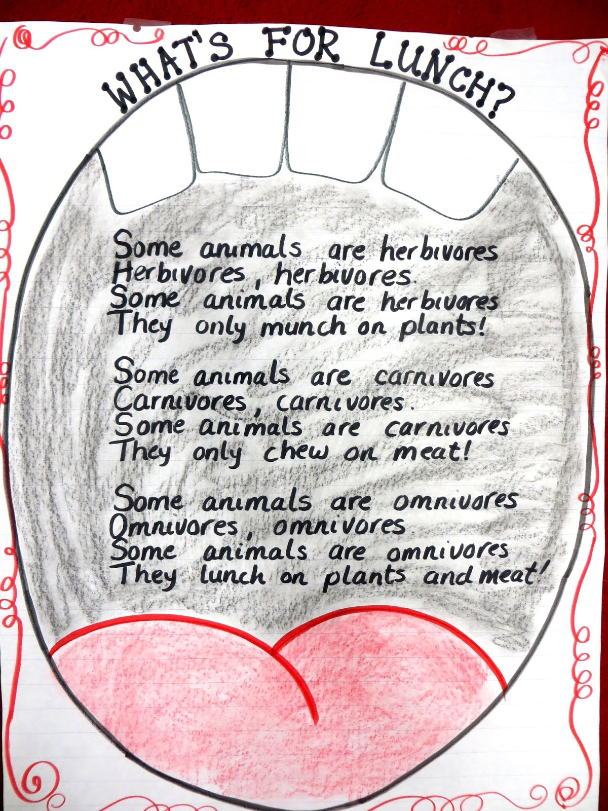 First grade life science worksheets what do animals eat 1 - What And How Animals Eat And A Free Geometry Unit