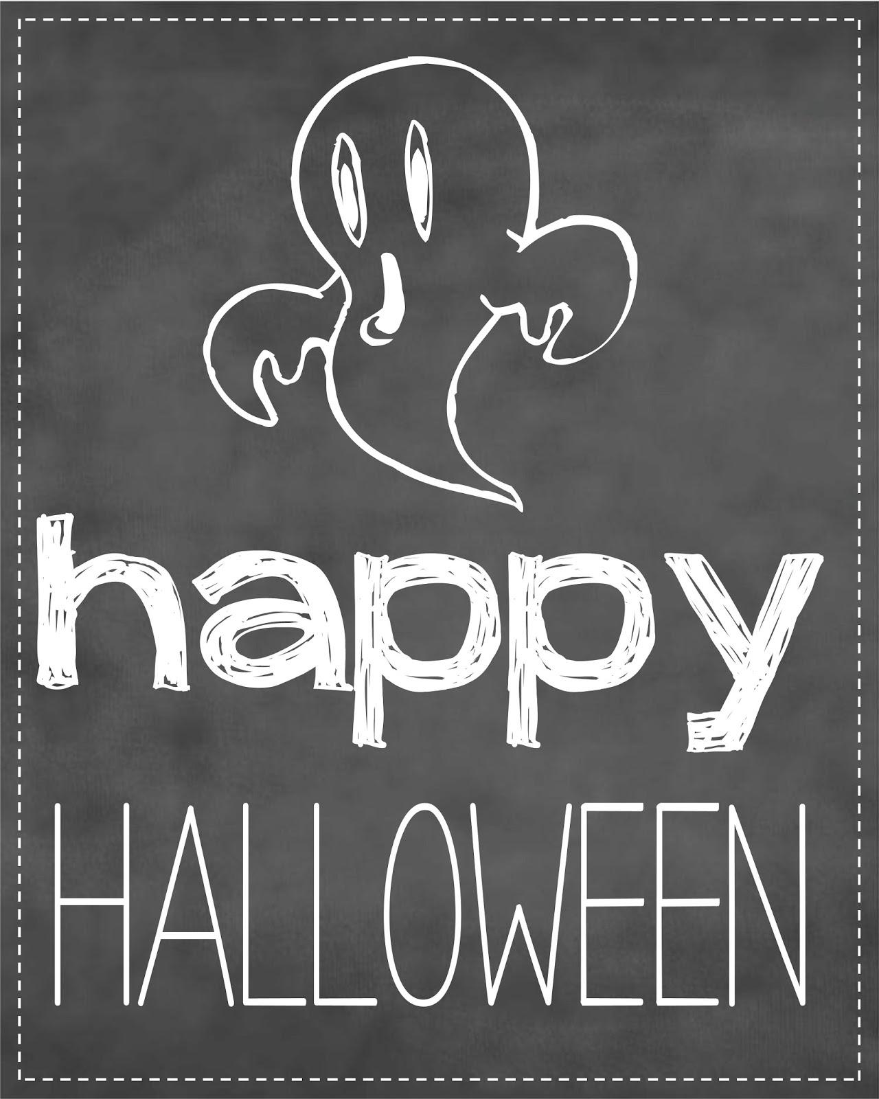Slobbery image for halloween signs printable