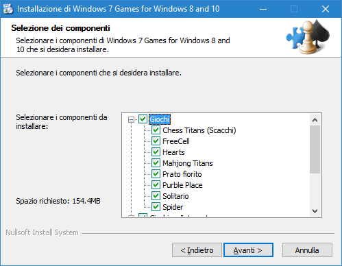 Programma Windows 7 Games for Windows 8 and 10