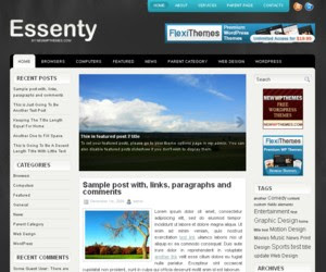 Essenty WordPress Theme