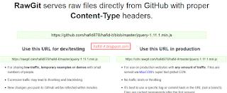 ubah url file github menjadi cdn rawgit