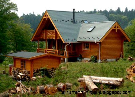 Desain Rumah Kayu Tak Terhalang Waktu