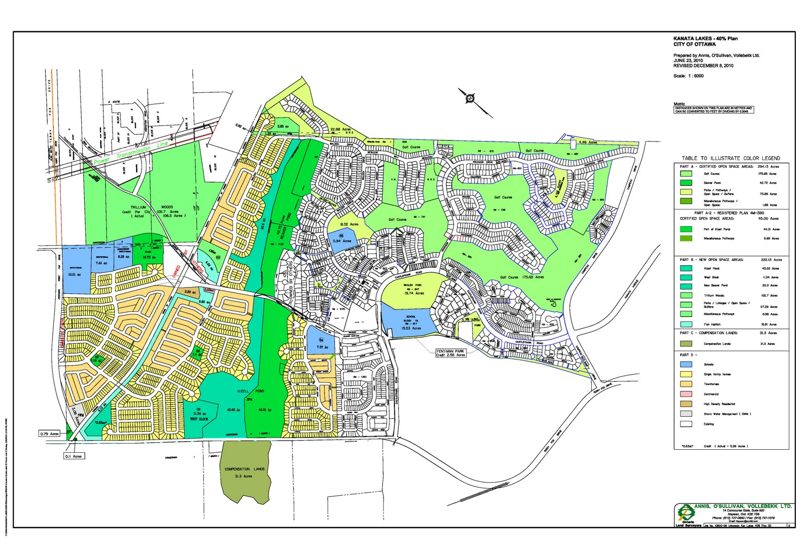 THE FIFTH COLUMN Map of The Kanata Lakes 40 Travesty