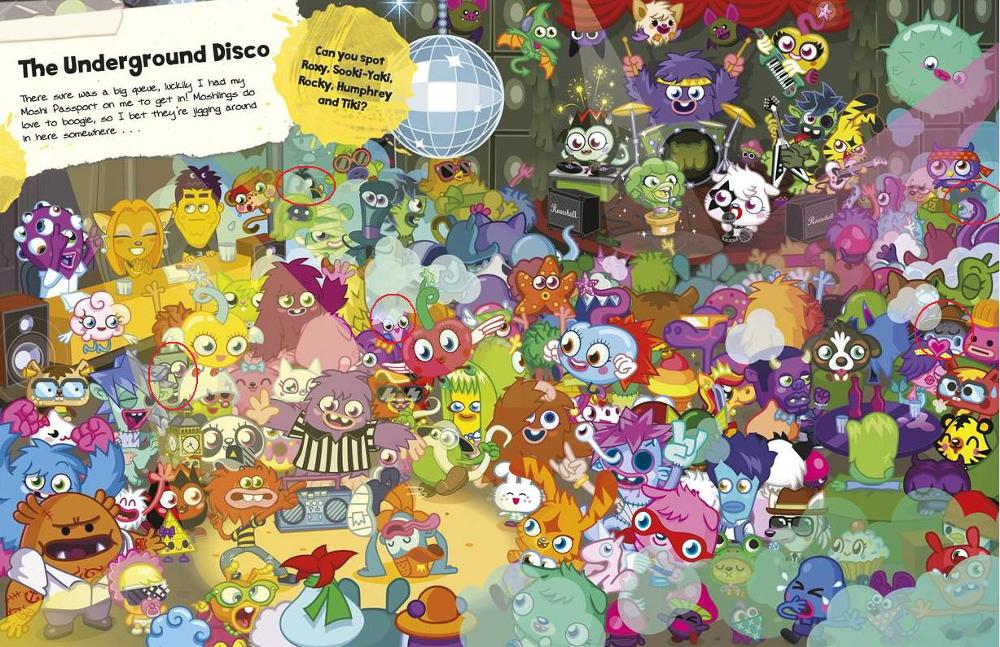 Buster's Lost Moshlings - The Undergroud Disco