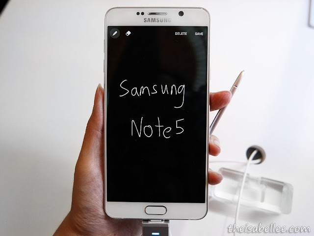 Samsung Galaxy Note5 Screen Off Memo