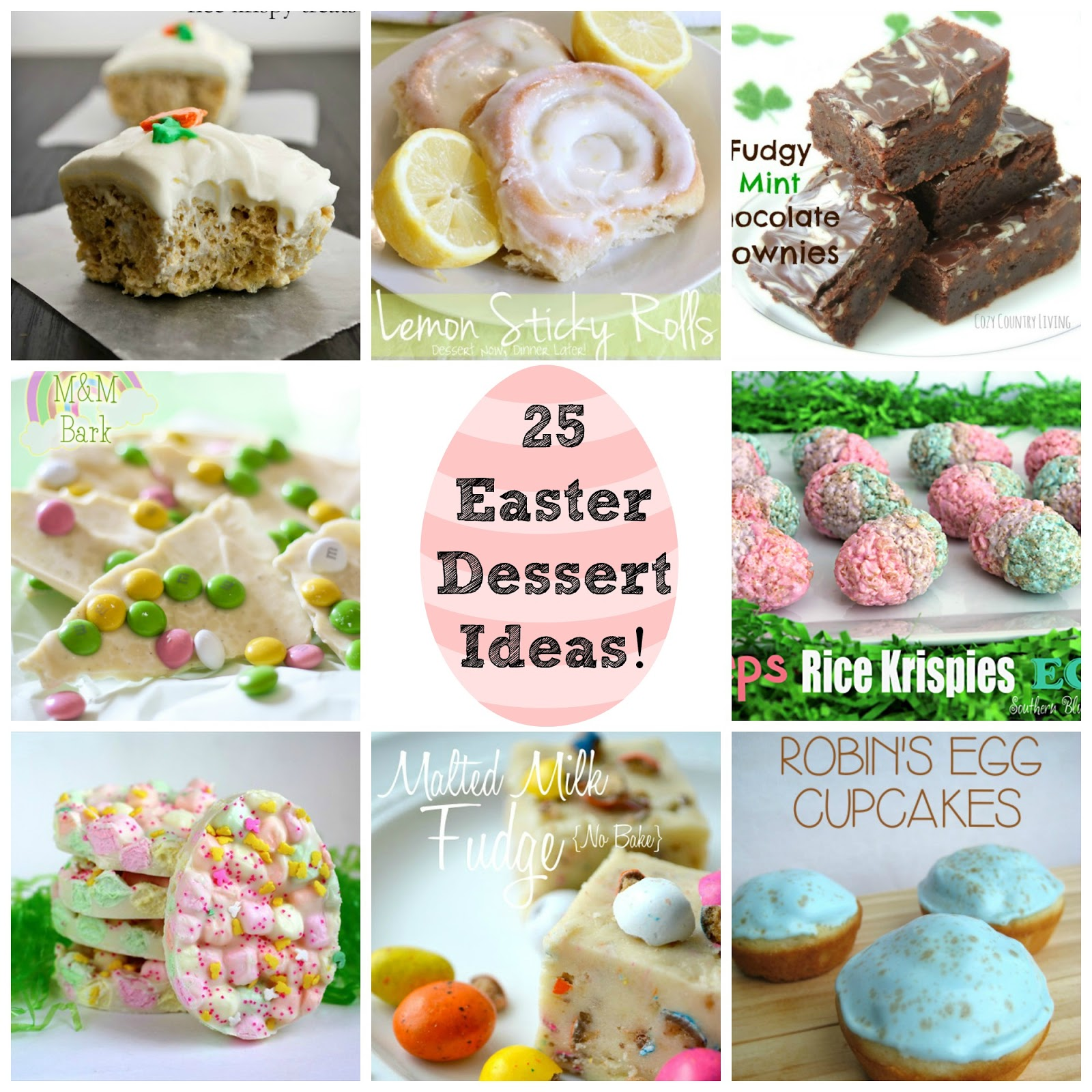 The best blog recipes 25 easter dessert ideas round up for Good desserts for easter