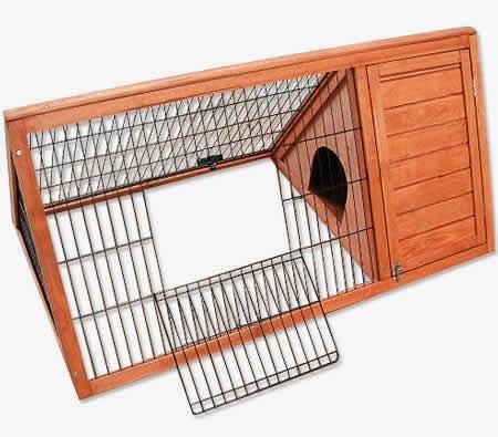Ideas para construir una casa para conejos quiero m s - Casas para conejos enanos ...