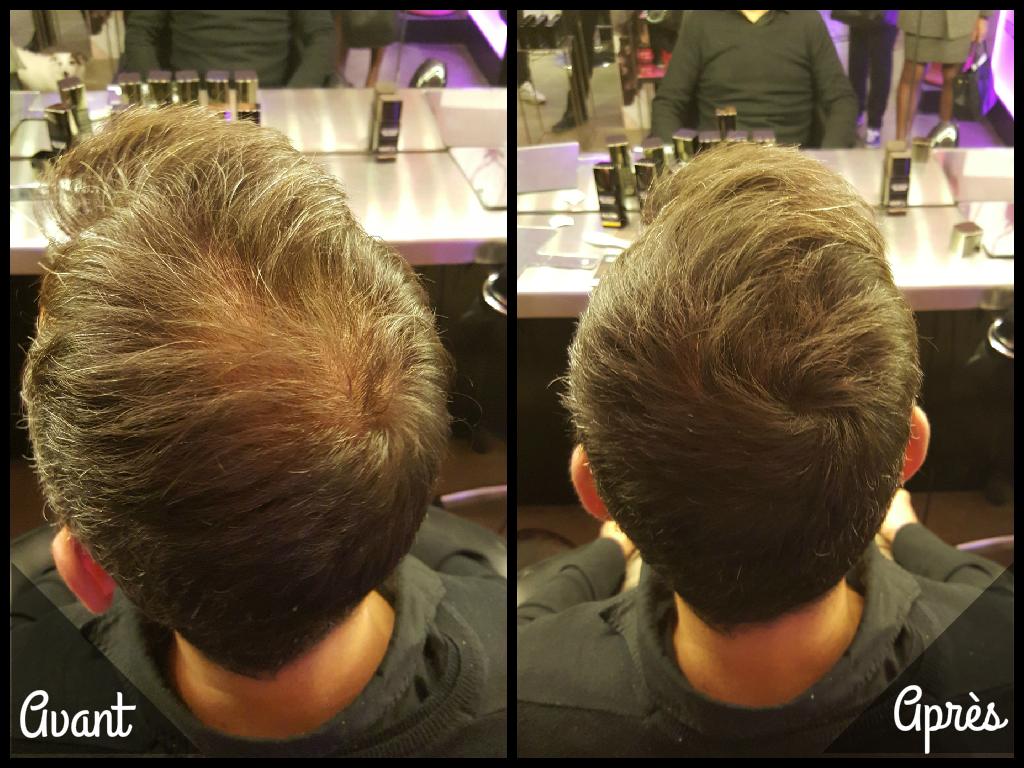 Hair 30 Avant après