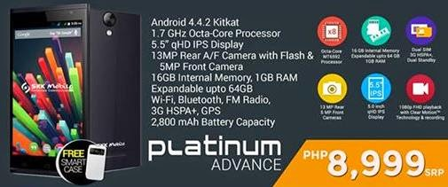 SKK Mobile Platinum Lite and Platinum Advance Launch Today