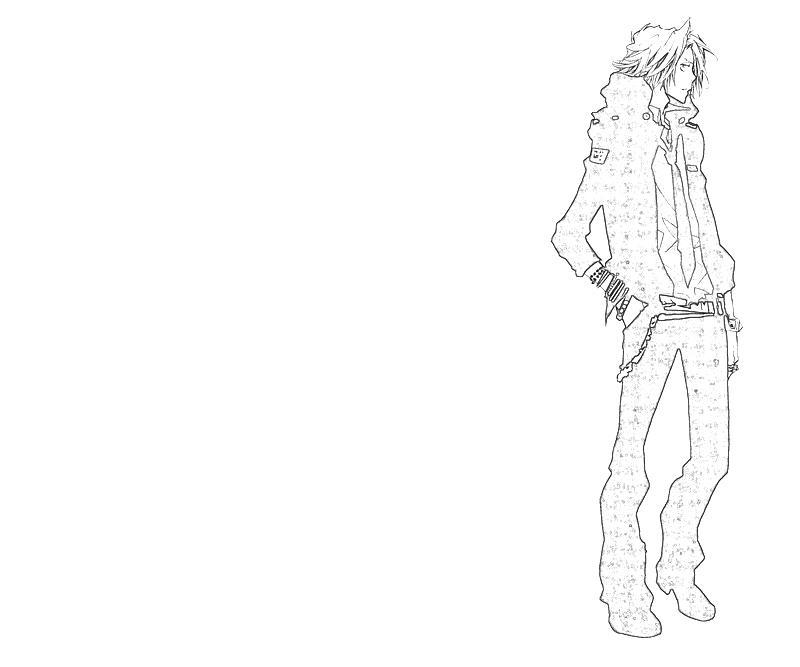 printable-hayato-gokudera-look-coloring-pages