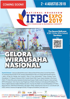 "Coming up: Surabaya Info Franchise & Business Concept 2019 ""Gelora Wirausaha Nasional"""