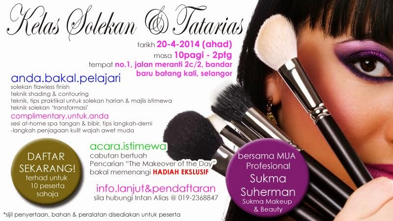 Upcoming Makeup Class