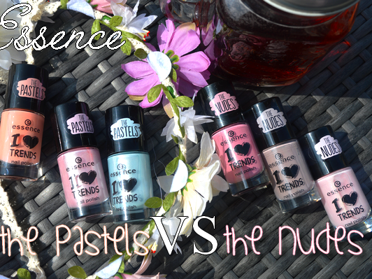 ♥ ESSENCE: THE PASTELS VS THE NUDES ♥