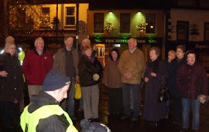 Singing at the Boyle 2012 Sleep Out