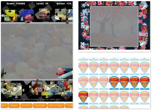 FB Game : PuzzleVille Jigsaw Puzzles
