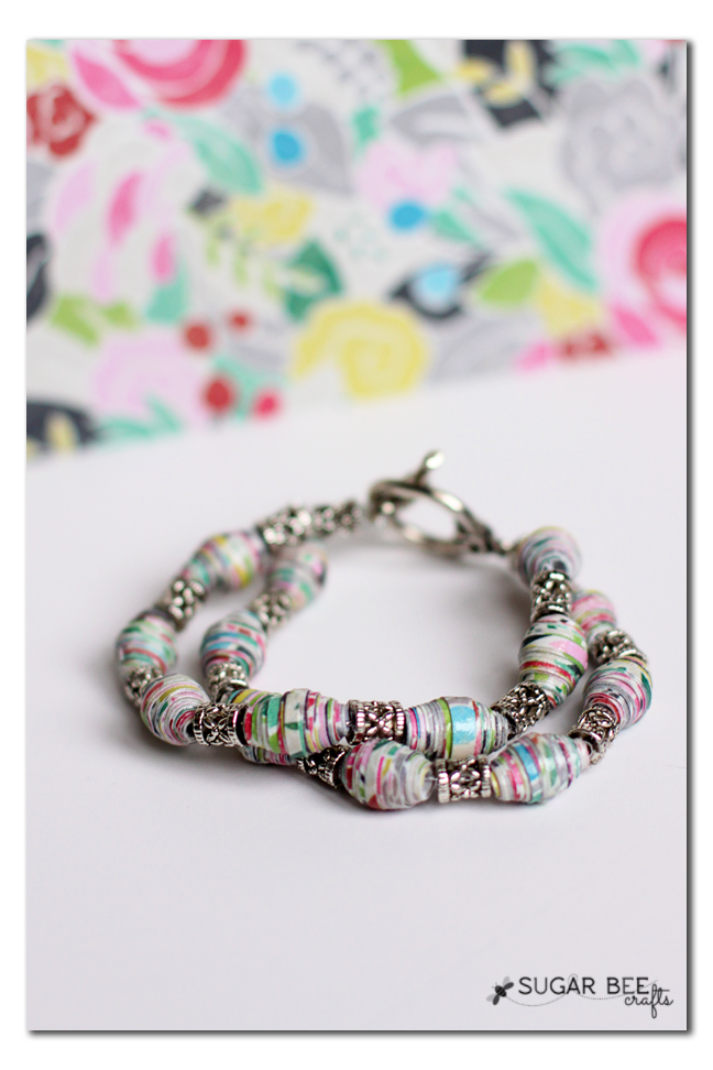 paper bead bracelets Little ones love our colorful paper bead bracelets so much that we now offer a  special version just for children the child's paper bead bracelet is handmade in .