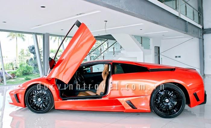 Cho thuê siêu xe Lamborghini Muciélago Đỏ