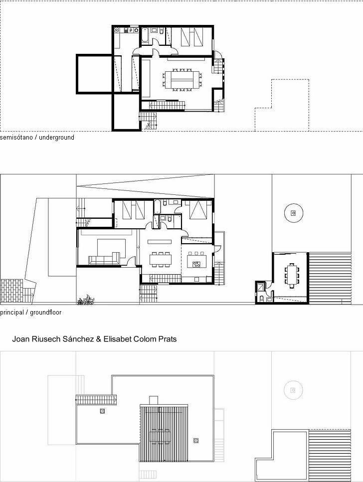 Arquitectura de casas casa contempor nea minimalista en for Plantas de arquitectura