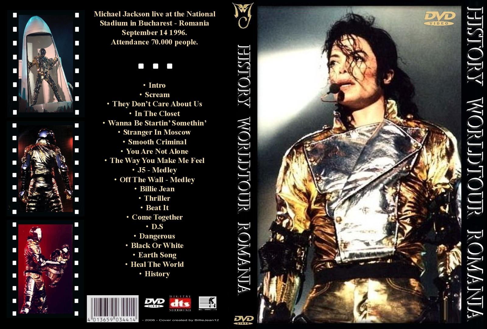 Michael Jackson Bucharest | 6k...